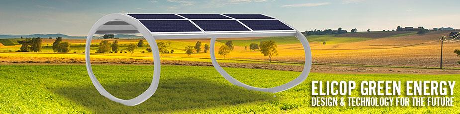 Copertura Auto metallica innovativa fotovoltaico